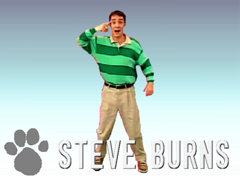 Steve Burns Super Smash Bros Toon Wikia Fandom Powered By Wikia