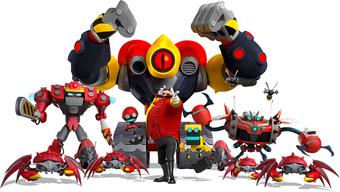 Eggman S Robots Super Smash Keybladers Wiki Fandom