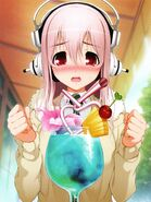 Sonico and her special drink