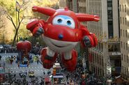 Jett - balloon in Macys Thanksgiving day parade 2017