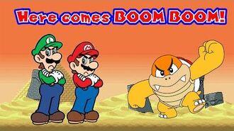 Super AniMario Bros Here Comes Boom Boom! (S1, EP4)