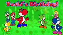 Yoshi's Birthday!