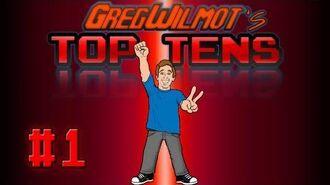 Greg's Top 10 Video Games! (p.s