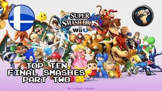 Top Ten Final Smashes Part 2 - Wii U - The Completionist