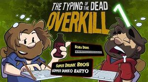 Typing of the Dead Overkill Let's Play 1 - The Goldman