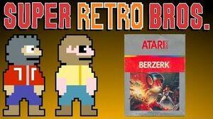BERZERK (ATARI 2600) - Super Retro Bros