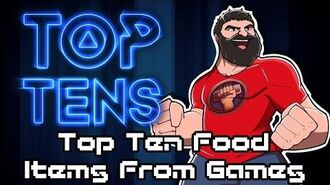 Top Ten Food Items in Games - The Completionist