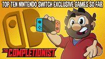 Top Ten Switch Games