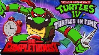 TMNT 4 Turtles in Time The Completionist New Game Plus
