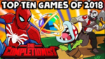 Top 10 Games of 2018