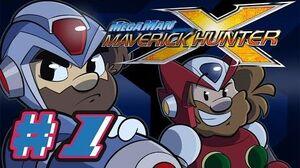 Mega Man X Maverick Hunter Let's Play 1 - April Fools 3D