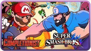 Super Smash Bros. Wii U & 3DS - The Completionist Ep
