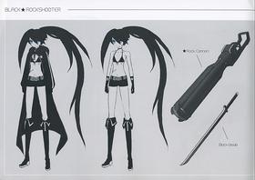 Black Rock shooter Concept Art