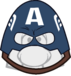 Captain America's Face Mask Icon