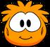 Disfraz de puffle naranja