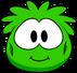 Disfraz de puffle verde