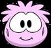 Disfraz de puffle rosa