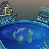 Fondo de viajero del multiverso