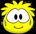 Disfraz de puffle amarillo