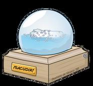 Globo de nieve del iceberg in-game