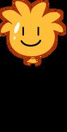 Globo de Puffle Naranja