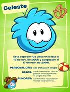 Puffle Celeste (Tarjeta)