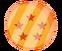 Pin de esfera de 5 estrella