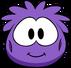 Disfraz de puffle violeta