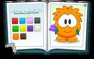Catálogo Club Puffle (Puffle Naranja)