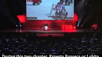 My Essence Ernesto Lobito Fonseca at TEDxJoven@PuraVida 2013 - MXCLIPS.com