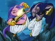 Fat Buu vs. Evil Buu