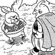 Majin Buu meets Usagi Majin