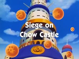 Siege on Chow Castle