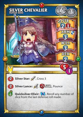 Silver Chevalier