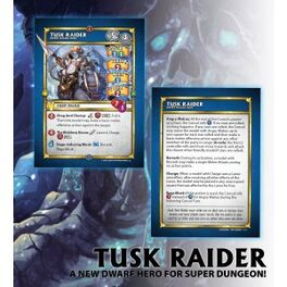 Tusk raider cards rough