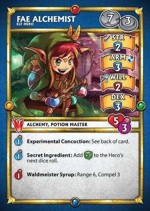 Card fae alchemist
