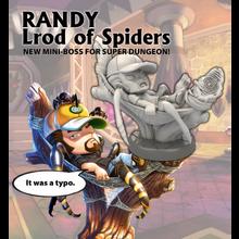 Randy lrod of spiders png
