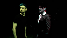 Darkiplier and Antisepticeye hear Grizzlyvoices' roar - DARKIPLIER vs ANTISEPTICEYE