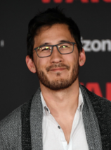 Mark Fischbach Premiere of Disney Pictures and Lucasfilm's 'Star Wars- The Last Jedi' 2017