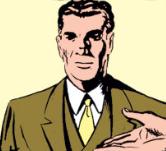 J. Arthur Grover headshot - Captain America Comics Vol 1 1 - Case No. 1. Meet Captain America - page 3