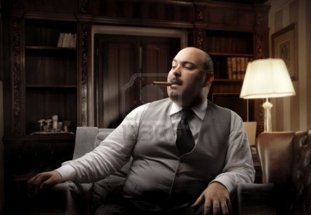 7173136-fat-man-sitting-on-an-armchair-and-smoking
