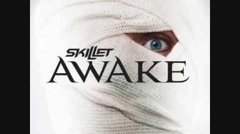 Skillet- Monster w growl (lyrics) - Awake