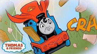 San Diego Comic Con Ft. Thomas as Superman & Diesel as Batman DC Super Friends™ Thomas & Friends