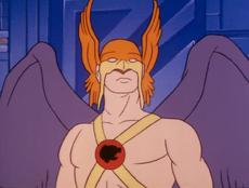 Hawkman (09x01 - The Seeds of Doom)