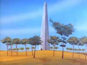 Washington Monument 3 (01x12 - The Menace of the White Dwarf)