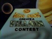 1982 Create a Villain contest