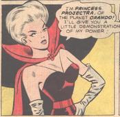 Princess Projecta -Adventure Comics -346 (July 1966)-.