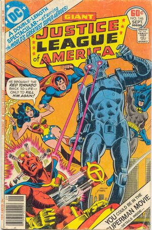 Cover (JLA, Issue 146)