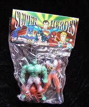Hulk and Spider-Man (Super Heroes figures)