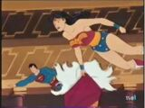 Superman and Wonder Woman vs. the Sorceress of Time